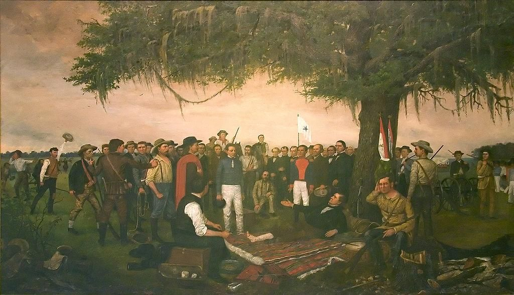 Santa Anna Surrender | Texas | Pinterest