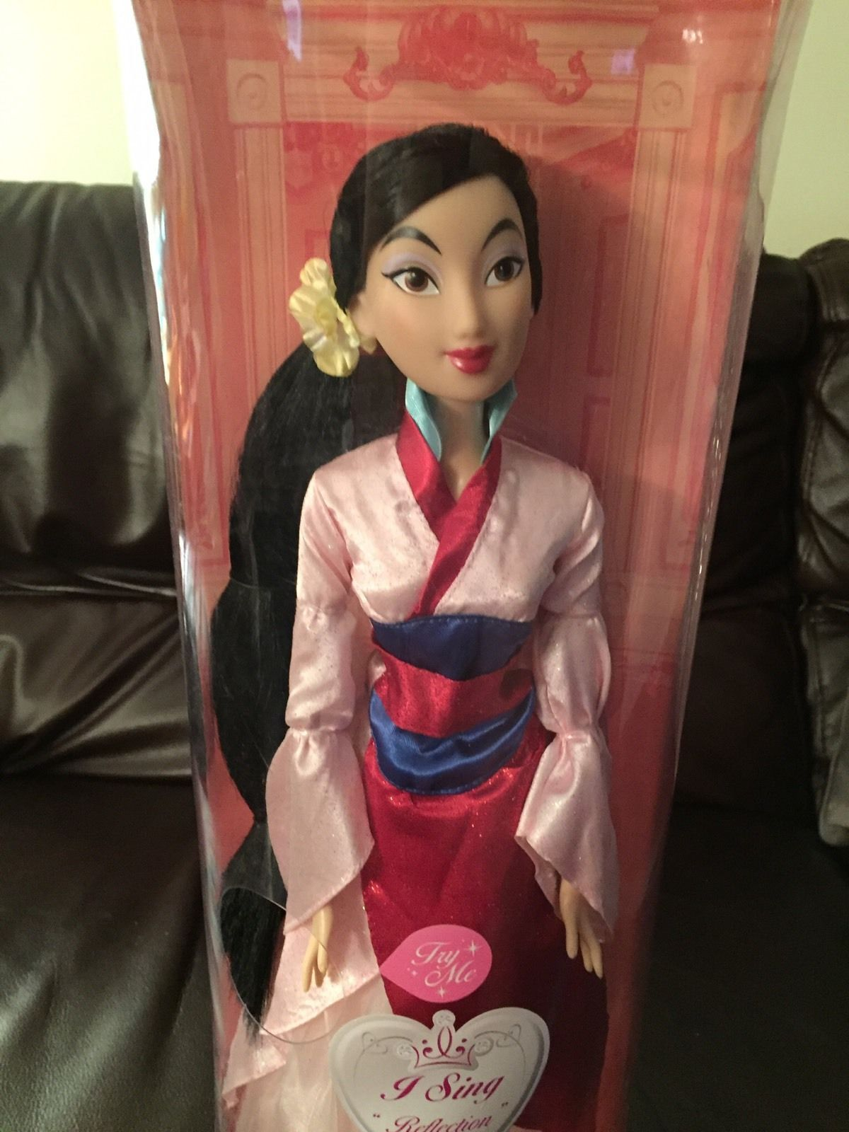 disney store limited edition mulan doll