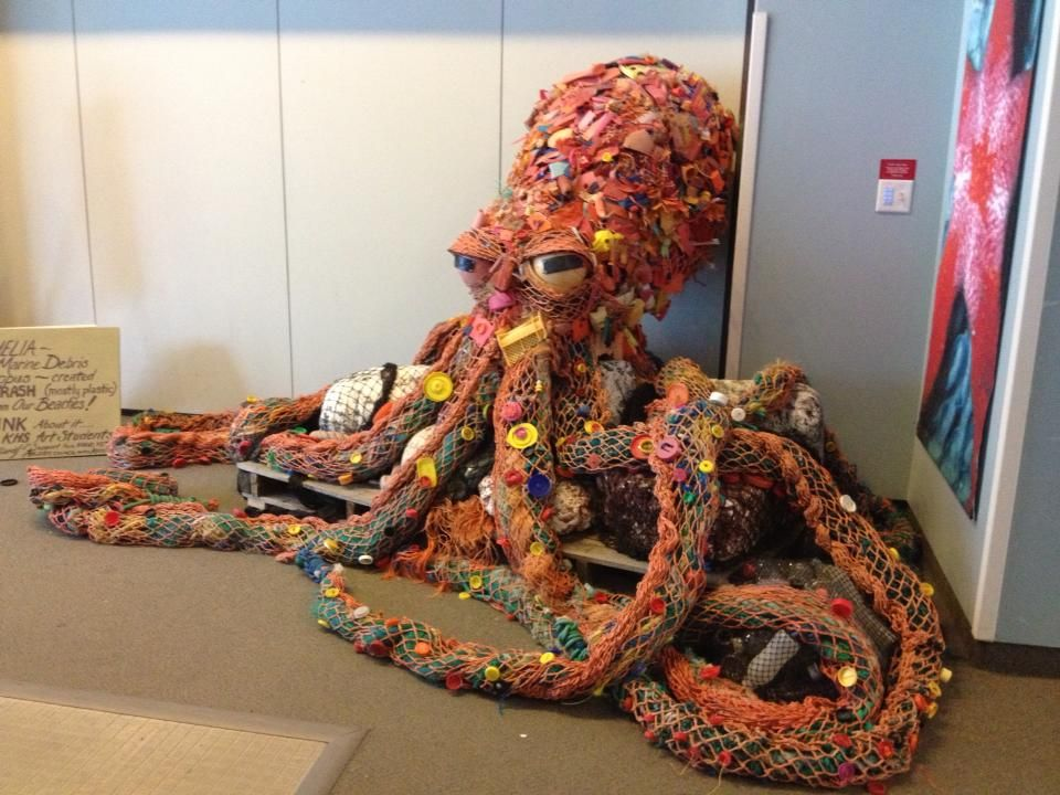 Trash art love this reuse ideas we like pinterest for Art from waste ideas