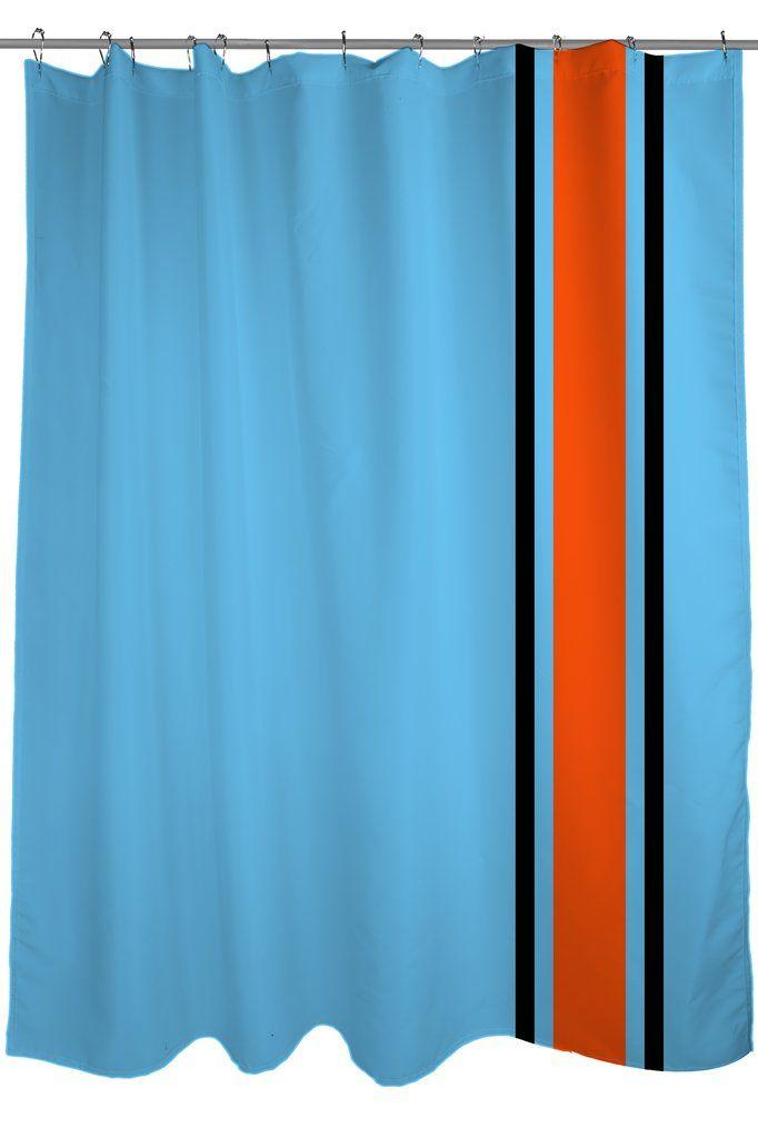 Gulf Racing Stripes Blue Orange Racing Stripes Striped