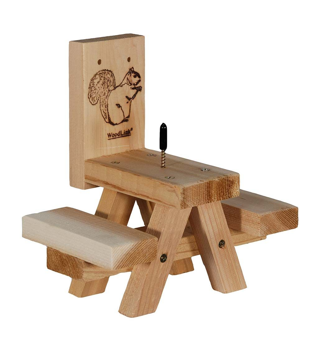 Picnic Table Squirrel Feeder Bird Feeders With Images