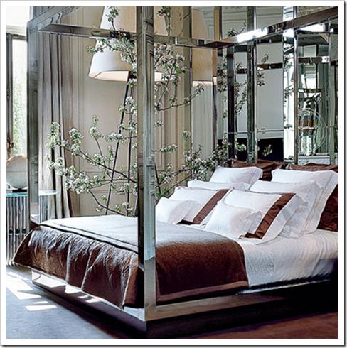 Mirror Bed Frame Bedroom Design Beautiful Bedrooms