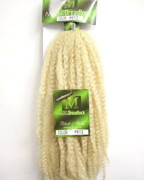 BNG 613 Blonde Marlie Dreadlocks Synthetic by BrokenDollBoutique, $12.00 # 613 blonde Braids BNG #613 Blonde Marlie Dreadlocks Synthetic Dreads Braids Marlie Braiding Hair Krinkle Puffs - Free US Shipping