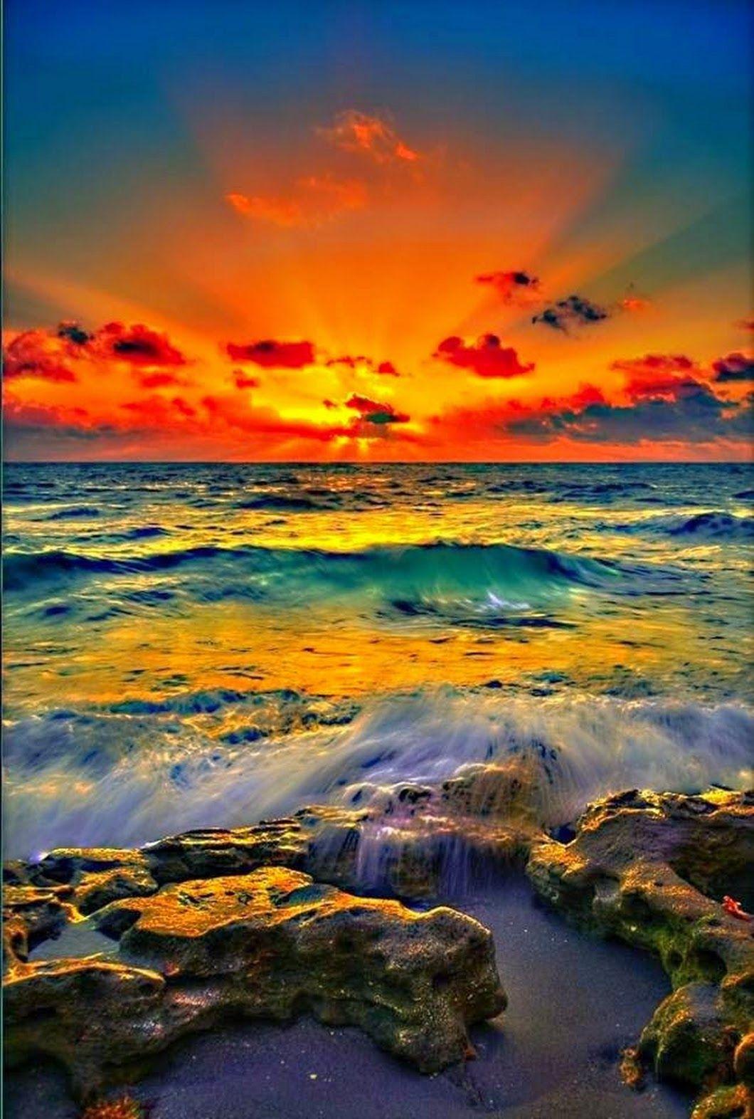 Pin By Howida Mahmoud On Amazing Pics Sunrise Florida Beaches