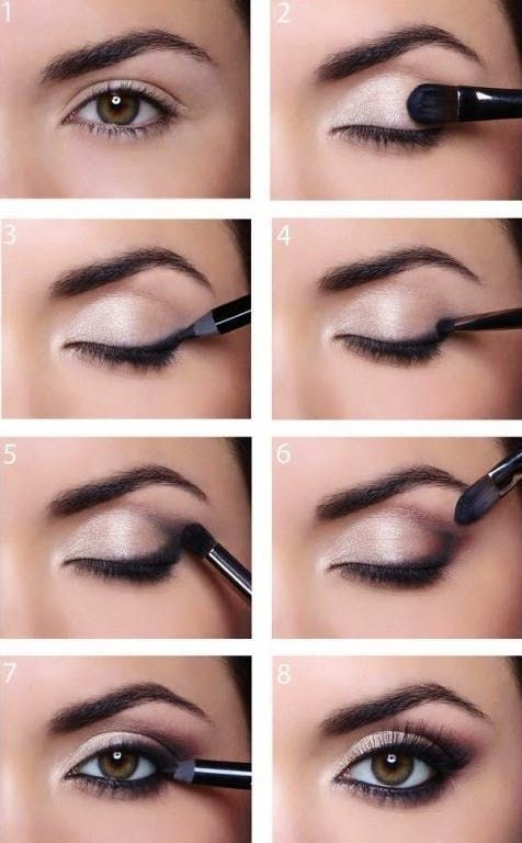Simple Instructions for Smokey Eyes Instructions for - Simple guide to Smokey Eyes  -