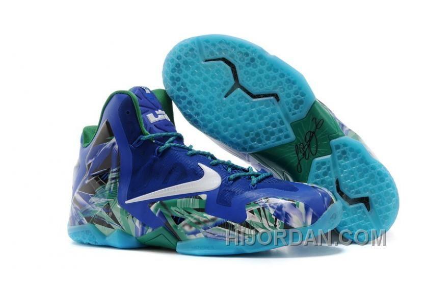 official photos 84292 f72cc Nike LeBron 11 Custom Everglades Discount GPAttF8 | Nike ...