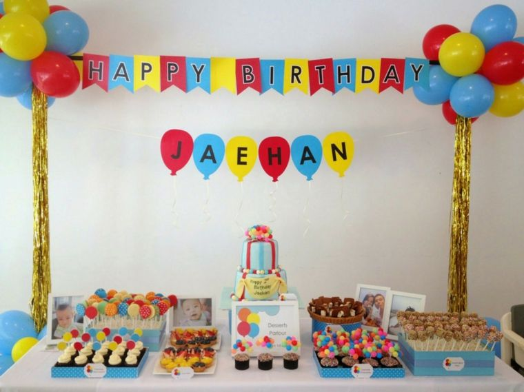 Ideas Originales Para Cumpleaños Cómo Decorar Una Fiesta Decoracion De Cumpleaños Celebraciones De Cumpleaños Fiesta De Cumpleaños De Niño