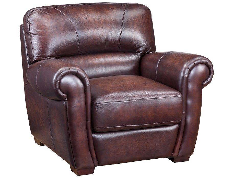 Slumberland Baron Collection Canyon Chair Chair Leather Chair