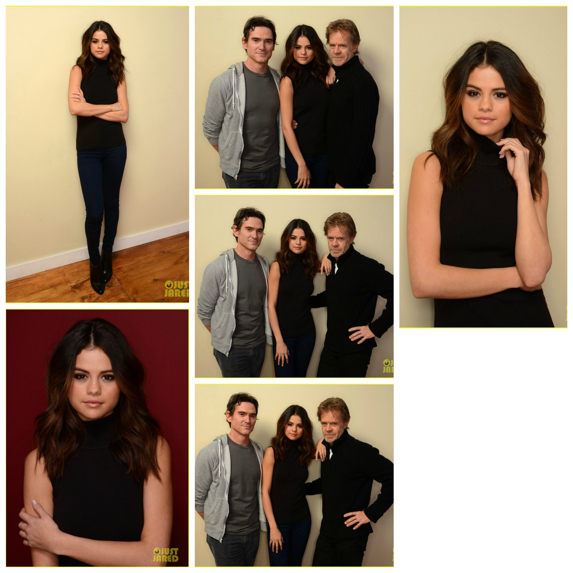 Selena Gomez with the cast of Rudderless (2014). Selena