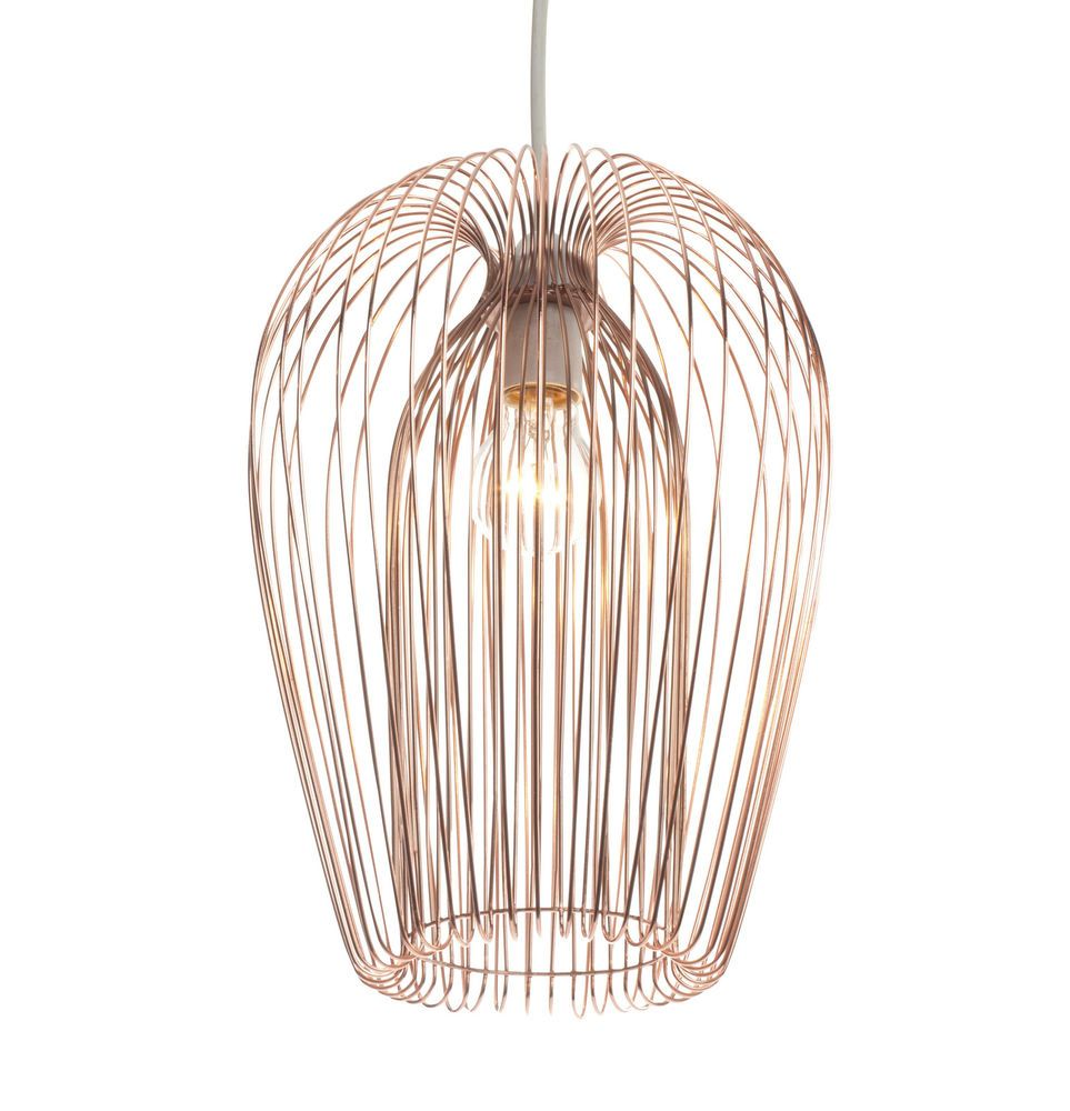 Contemporary copper wire hanging ceiling light pendant copper contemporary copper wire hanging ceiling light pendant keyboard keysfo Images