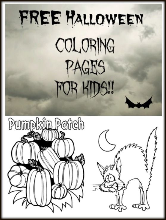 Check Out Our Huge List Of Halloween Coloring Pages Crayola Page Black
