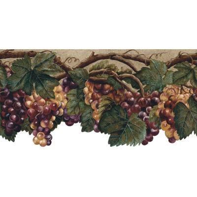 Import From France Wines Bottles Grapes 10 1 4 Inch Wide Wallpaper Border Wall Ebay Wine Bottle France Wine Wallpaper Border