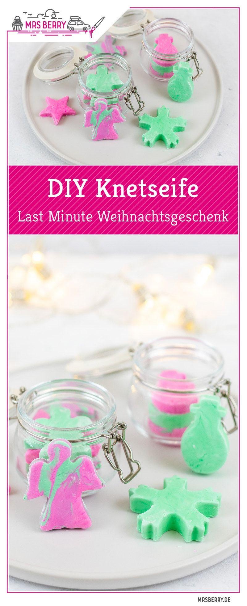 Geschenkidee: DIY Knetseife als Last Minute Weihnachtsgeschenk | MrsBerry.de