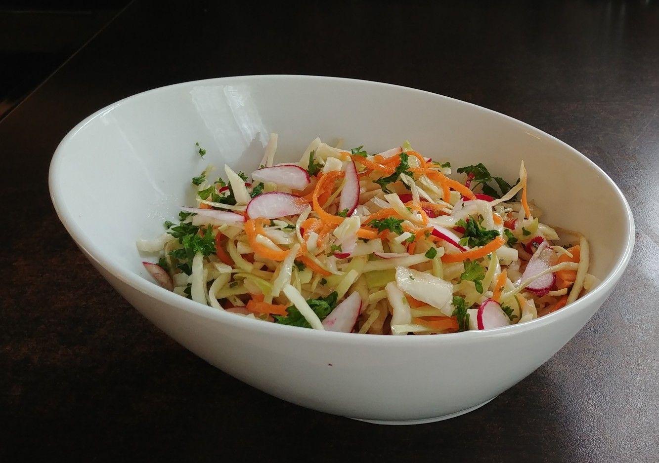 سلطه ملفوف جزر فجل La Cuisine De Norma Cooking Food Cabbage