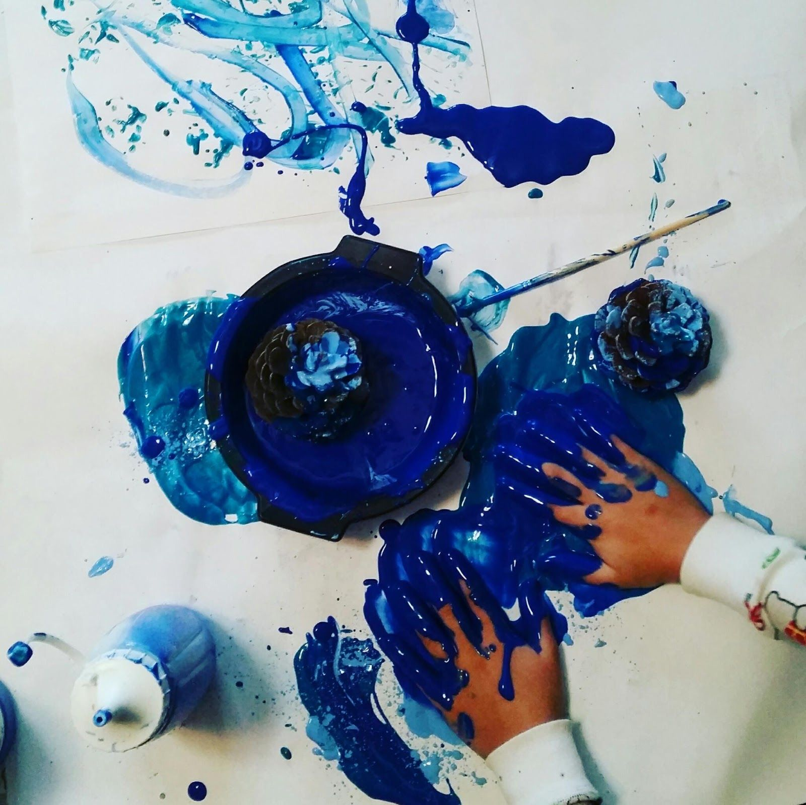 Sometimes it's just so important to let kids experience the process of art. When we stop telling them what to create, we allow them to fully...
