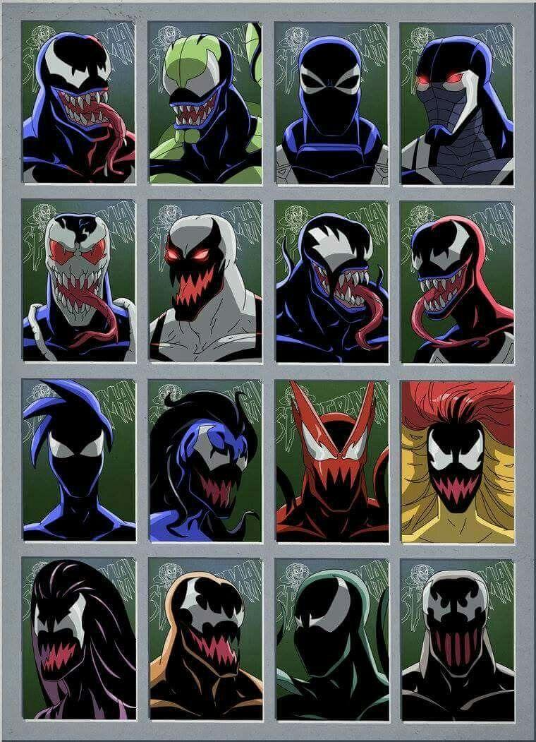 Many faces of Symbiotes | Doctor strange | Marvel dc comics