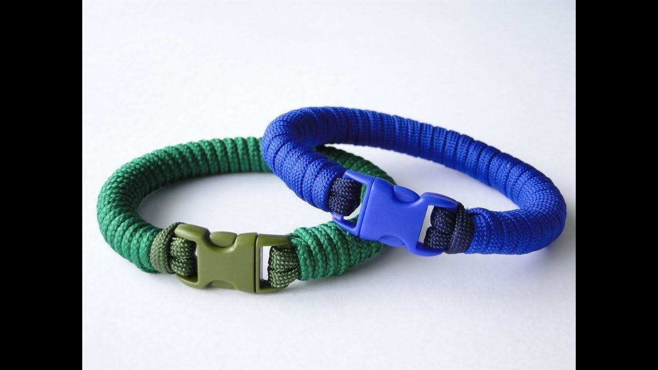 How To Make A Common Whipping Knot Paracord Survival Bracelet