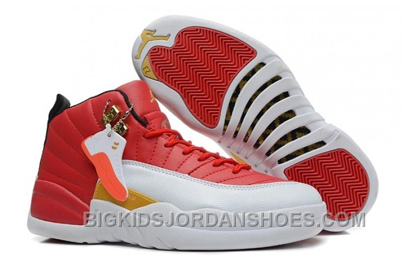 competitive price 2e3ab 6cda9 Italy Nike Air Jordan Xii 12 Retro Womens Shoes Red White ...