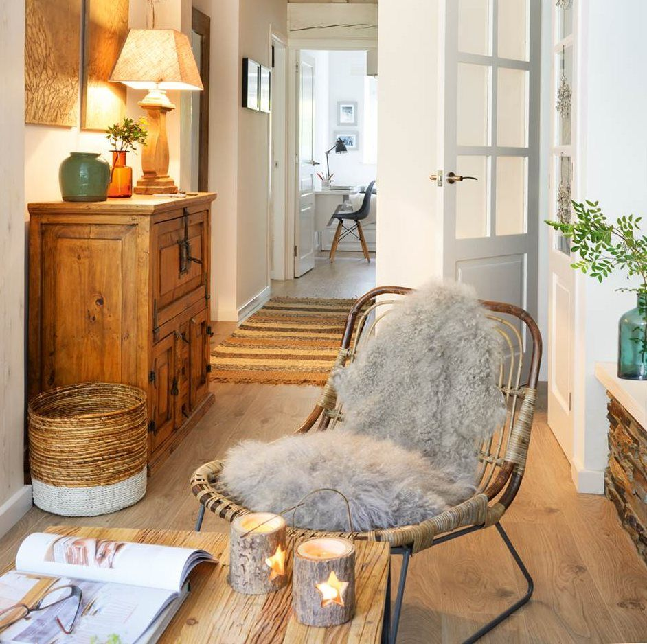 Objetivo invierno: 10 ideas para abrigar tu casa | Muebles de madera ...