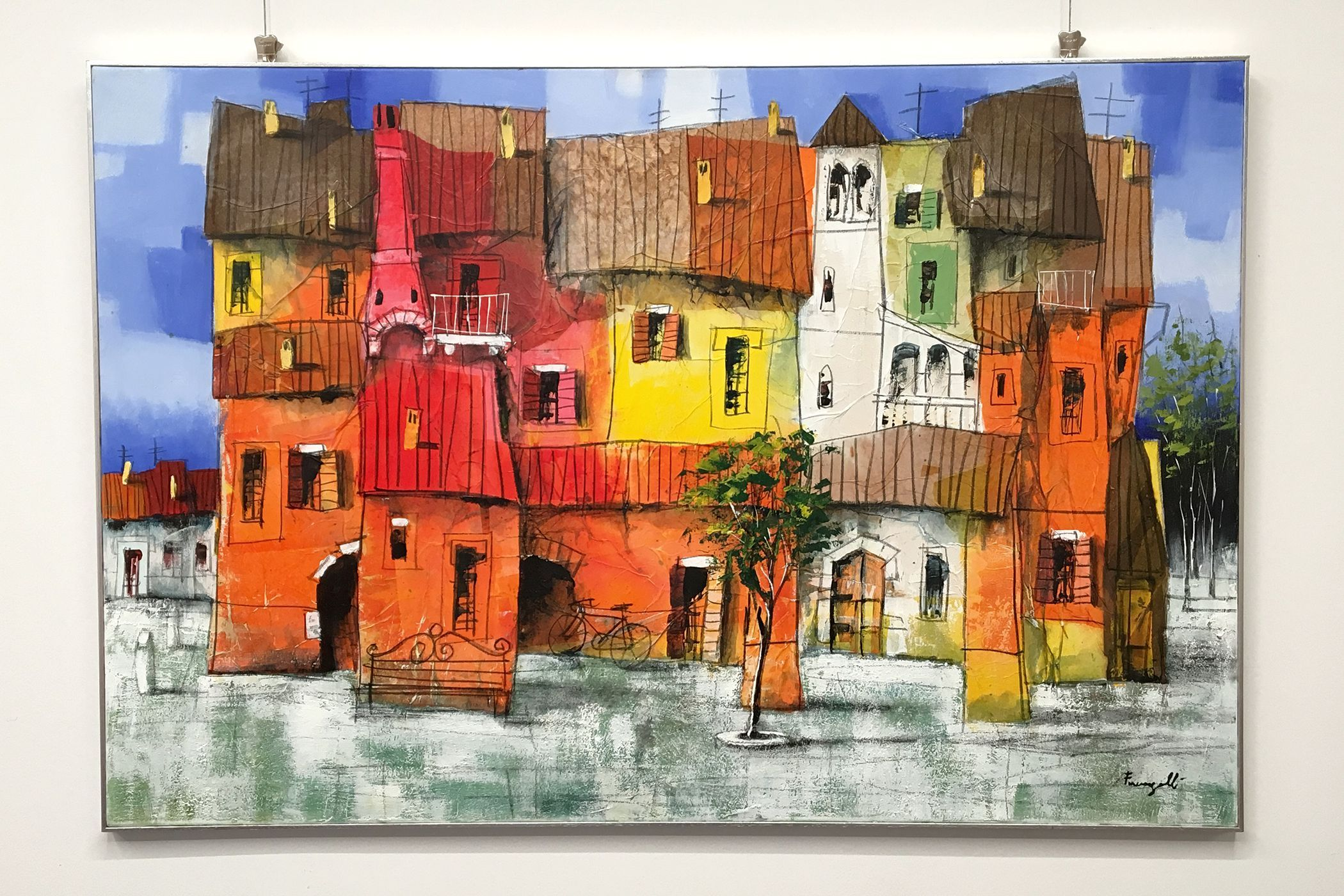 2adbfd38ee Quadro di Paolo Fumagalli. Opera d'arte originale in vendita presso ...