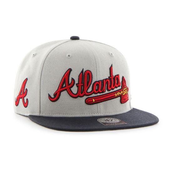 New Era 59Fifty Atlanta Braves Screaming Savage Baseball Hat Cap 7 Fitted  MLB  437b2ad8053f