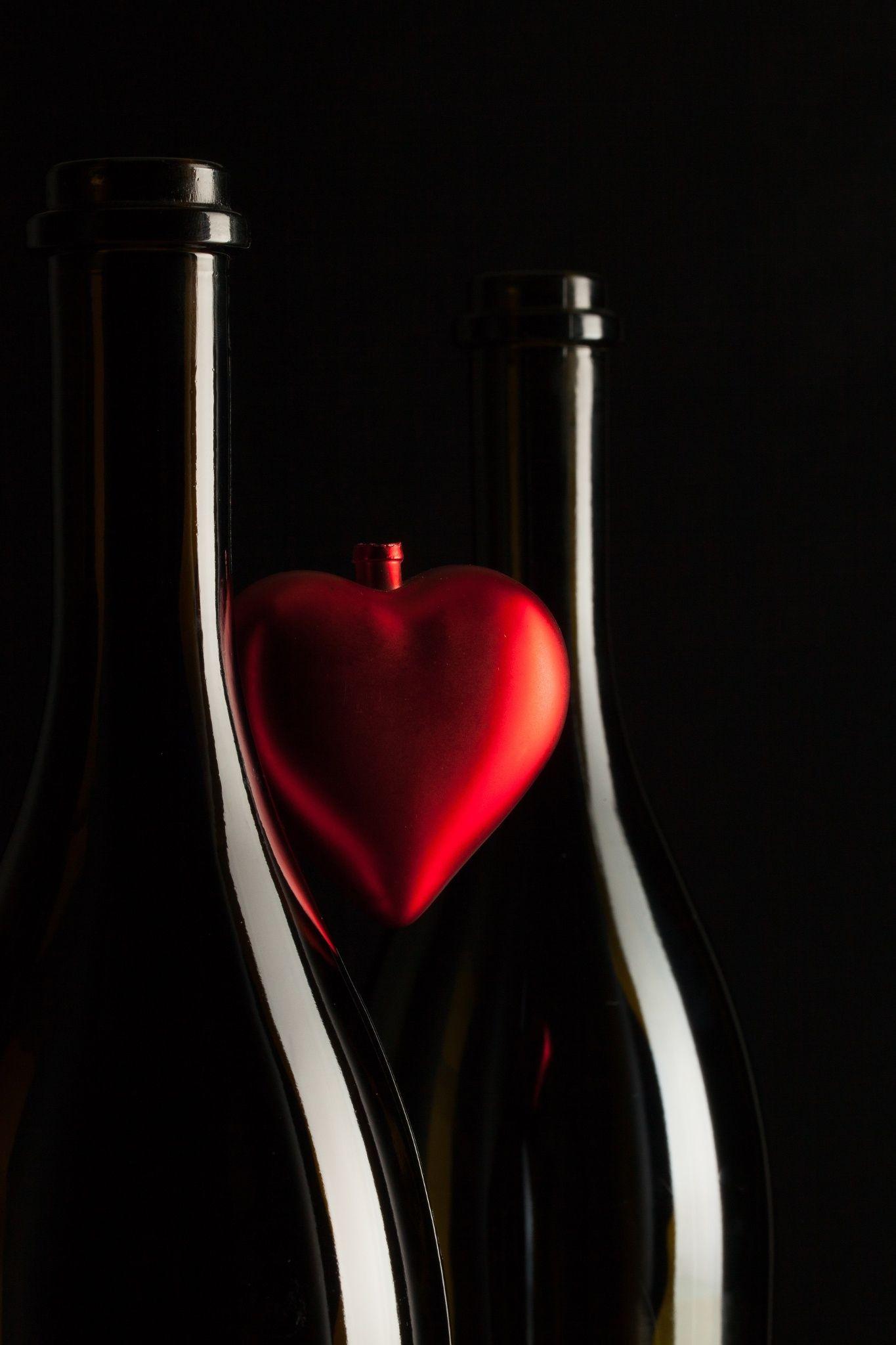 Two Bottles Elegant Wine Bottle Bottle Wine Bottle