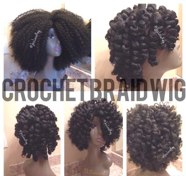 Crochet Braid Wig Natural Hair Salons Curly Hair Salon Crochet Hair Styles