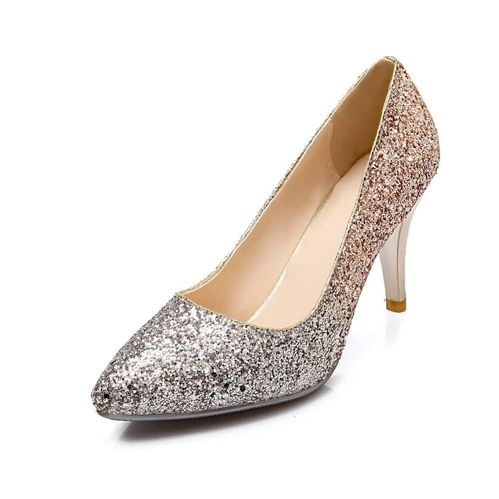 Ladies Stiletto Grey Black Court Peep Toe Party Wedding Womens Shoes 3//4//5//6//7//8