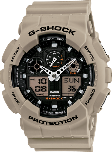 c2b452245c46 The GA100 series is Big and Guy. 51mm   G-Shock offers multiple watches in