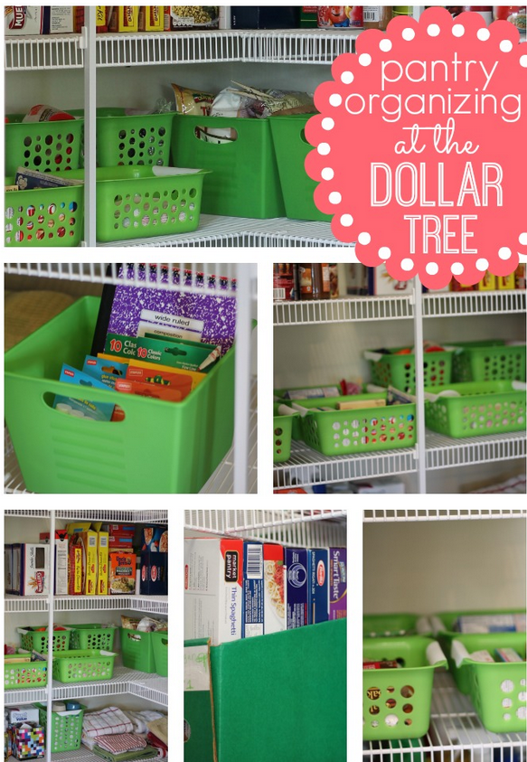 Pantry Organizing At The Dollar Tree Frugal Living