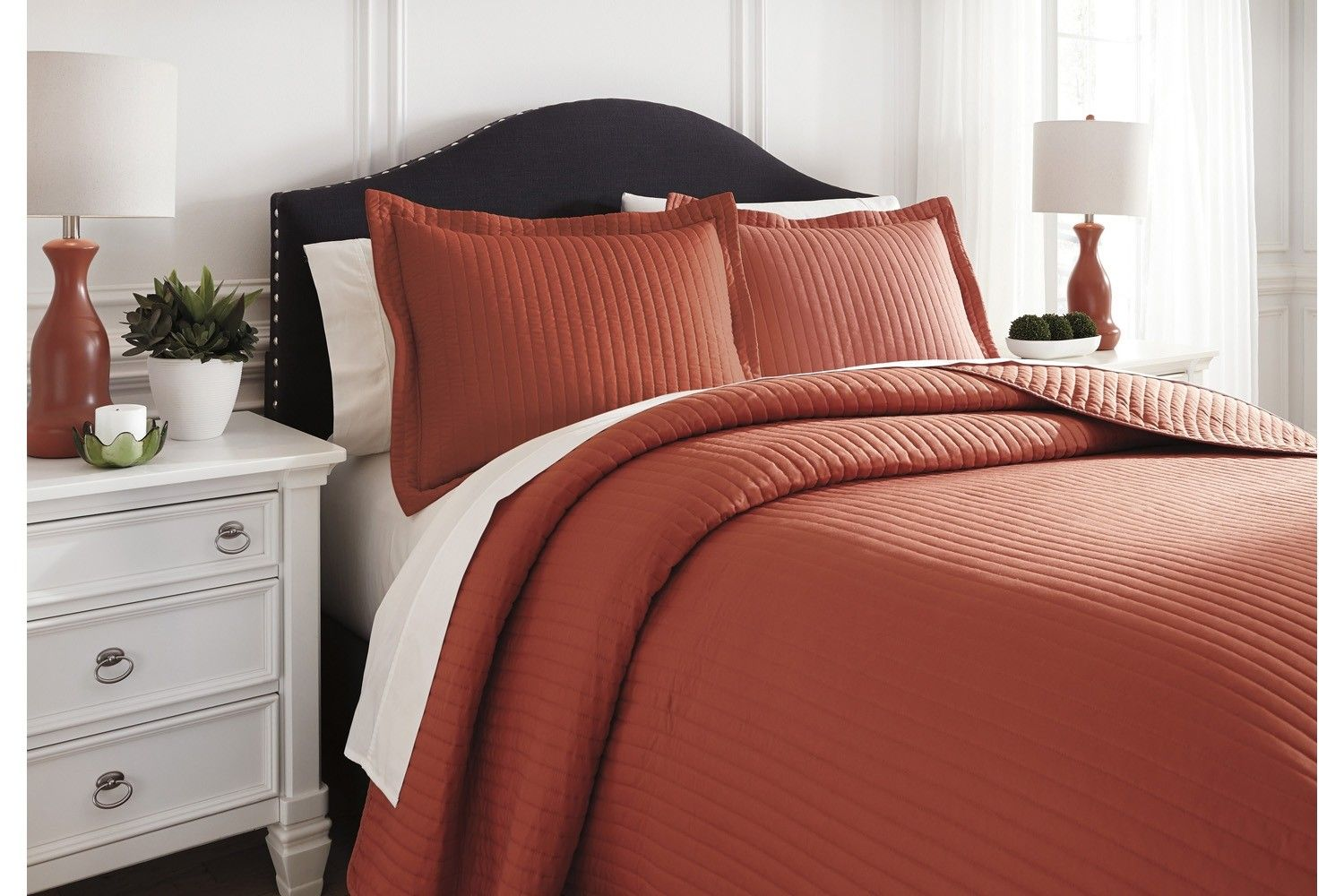 The Singular Sensational Color Of The Raleda Coverlet Set Is Given Just Enough Oomph Care Of