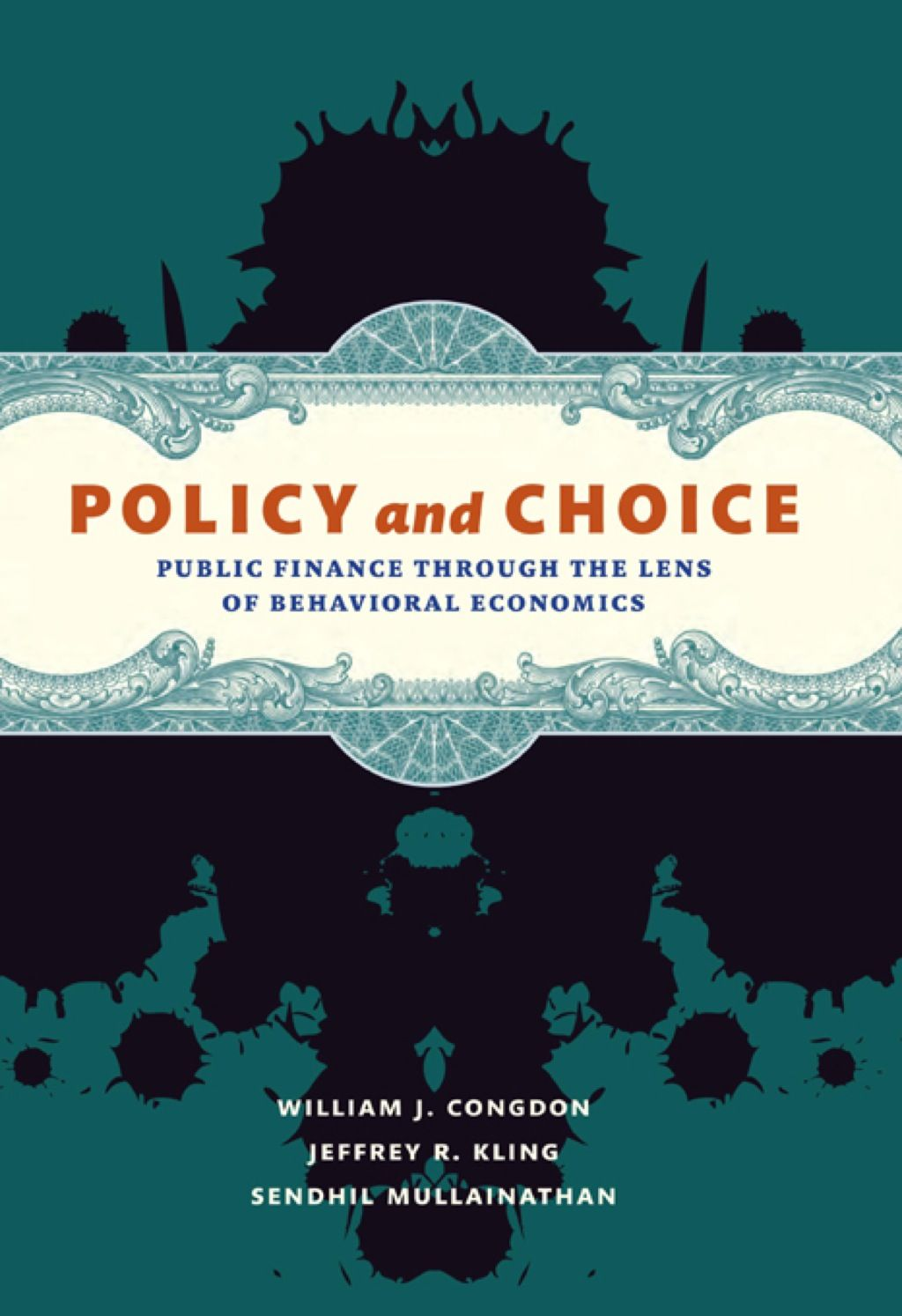 Policy and Choice (eBook) Behavioral economics