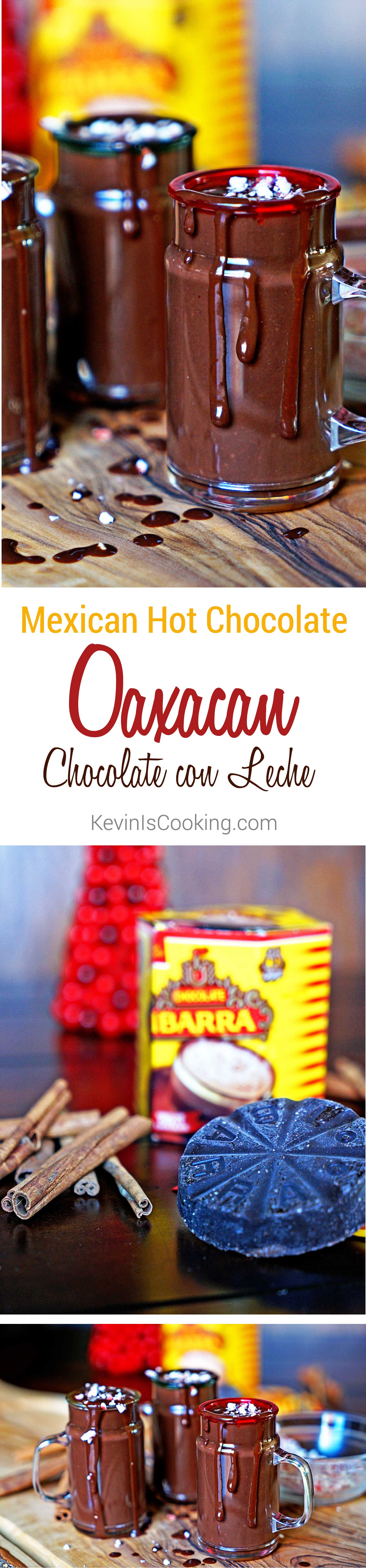 Mexican Hot Chocolate – Oaxacan Chocolate con Leche. www.keviniscooking.com