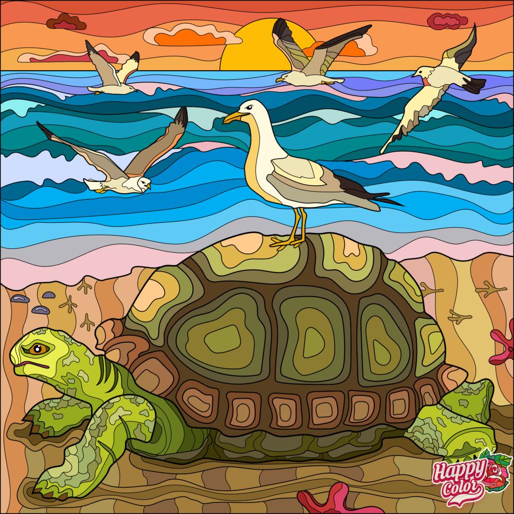Happy Color App | Раскраски, Рисунки, Вышивка