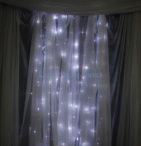 6ft Tall Curtain Led Light Strands 144 Lights Curtain Lights