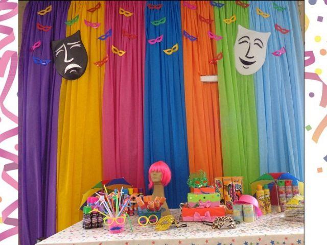 Cortina Em Tnt ~ festa de crianca com cortina de tnt felicidades Pinterest Cortinas de tnt, Cortinas e Crianças