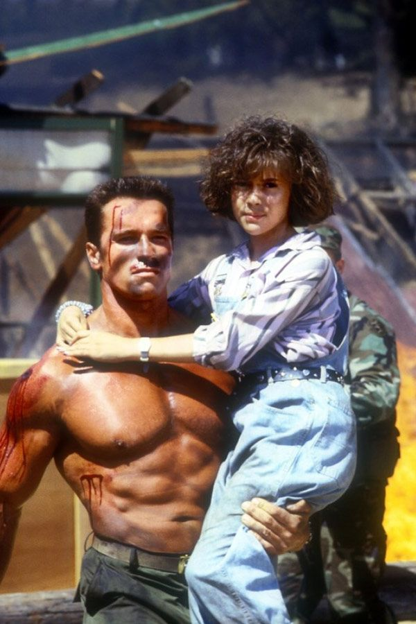 Commando 1985 Photo Gallery Imdb Alyssa Milano And Arnold
