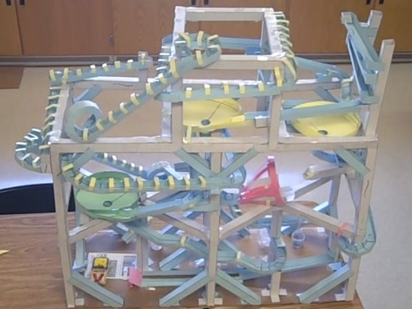 marble roller coaster ideas this paper roller coaster