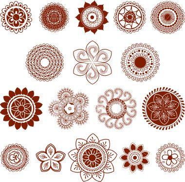 2ème en bas à gauche   Tatoo Spirit   Pinterest   Henna, Henna ...