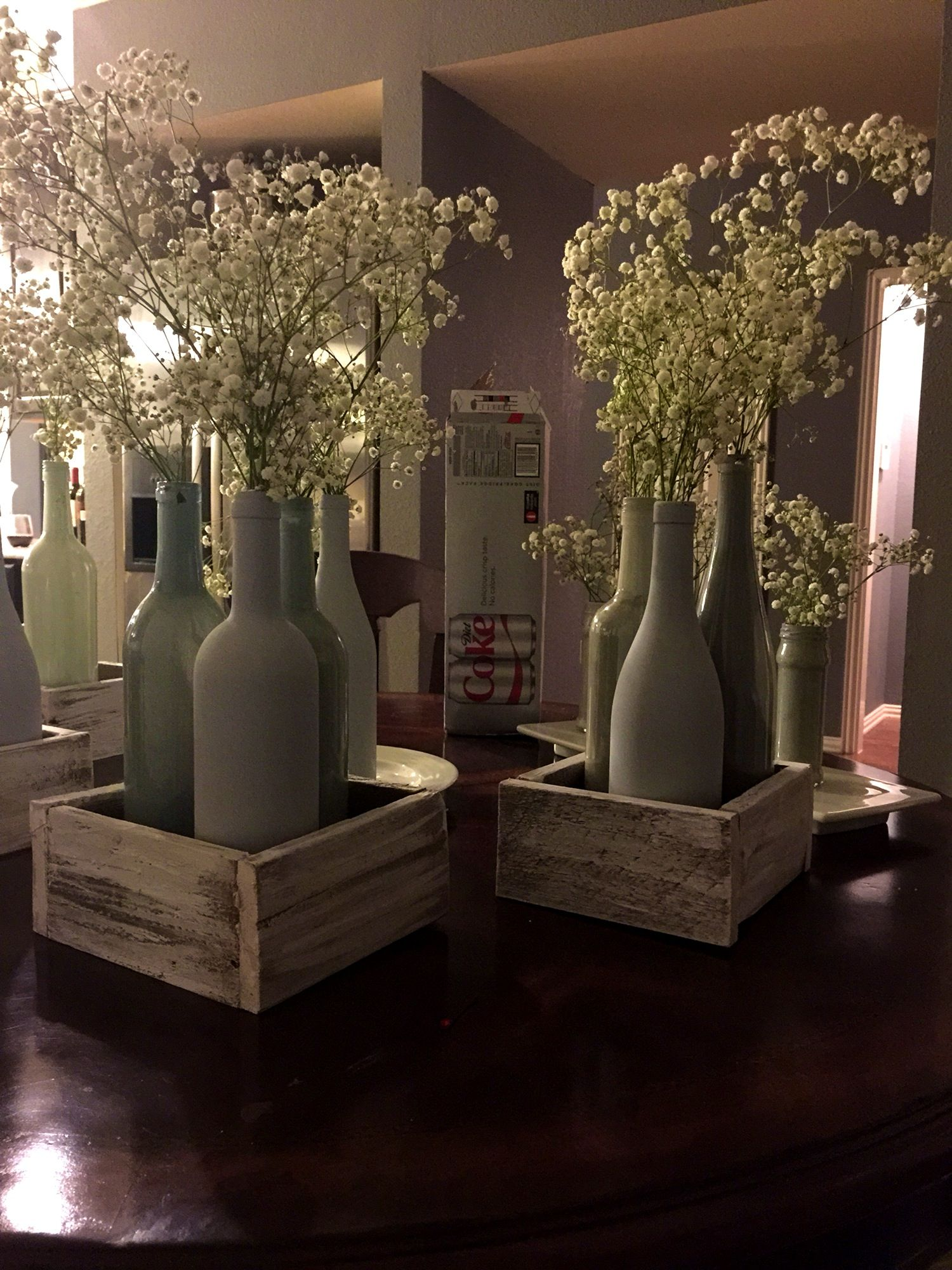 Furniturecomely Decorated Wine Bottles Xmas Bottle Centerpieces For