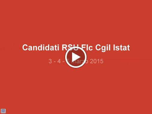 Flc Cgil Istat - Google+ - il video dei candidati