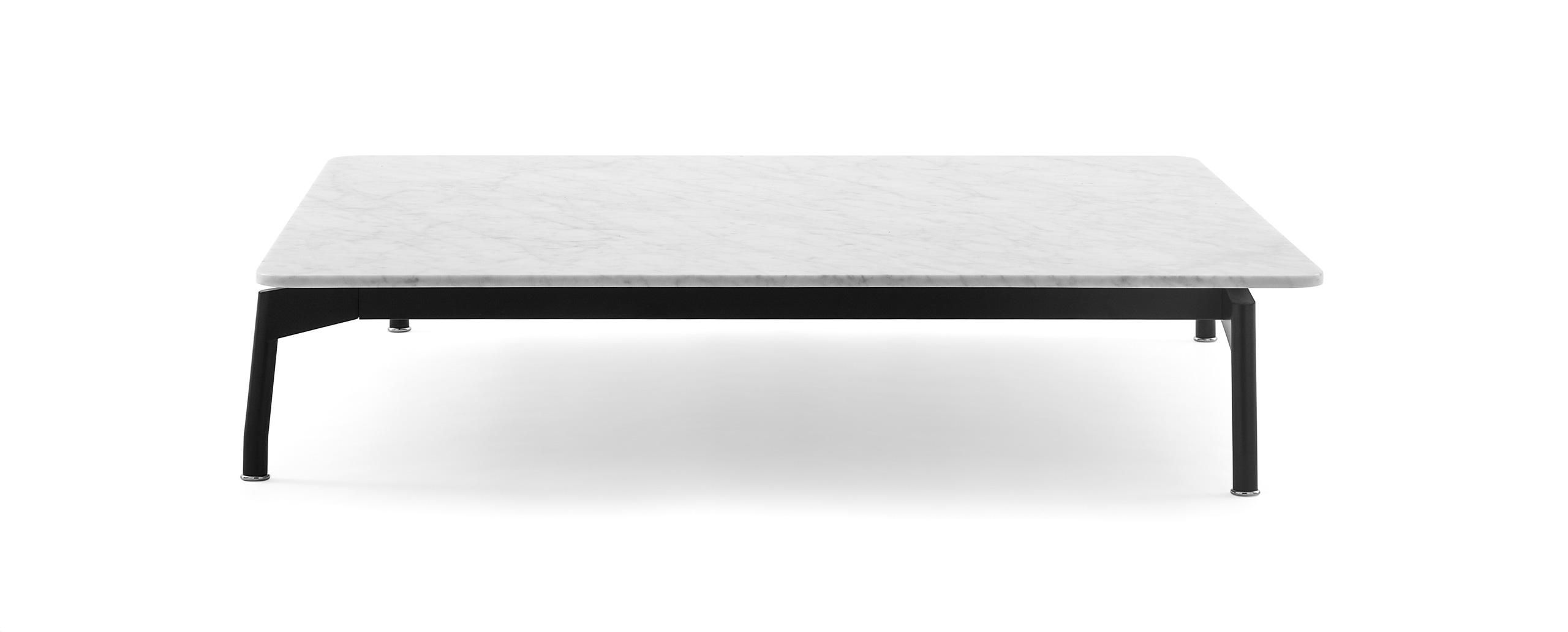 rectangular marble coffee table giano flexform objects