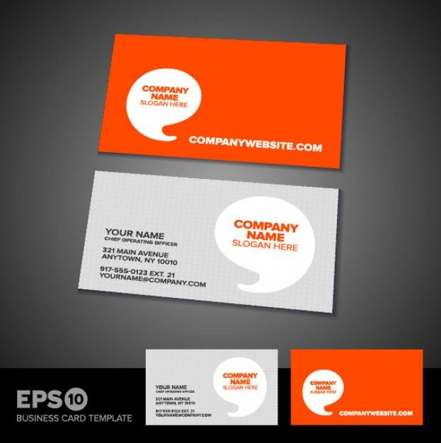 Orange and grey business card google search business cards orange and grey business card google search wajeb Images
