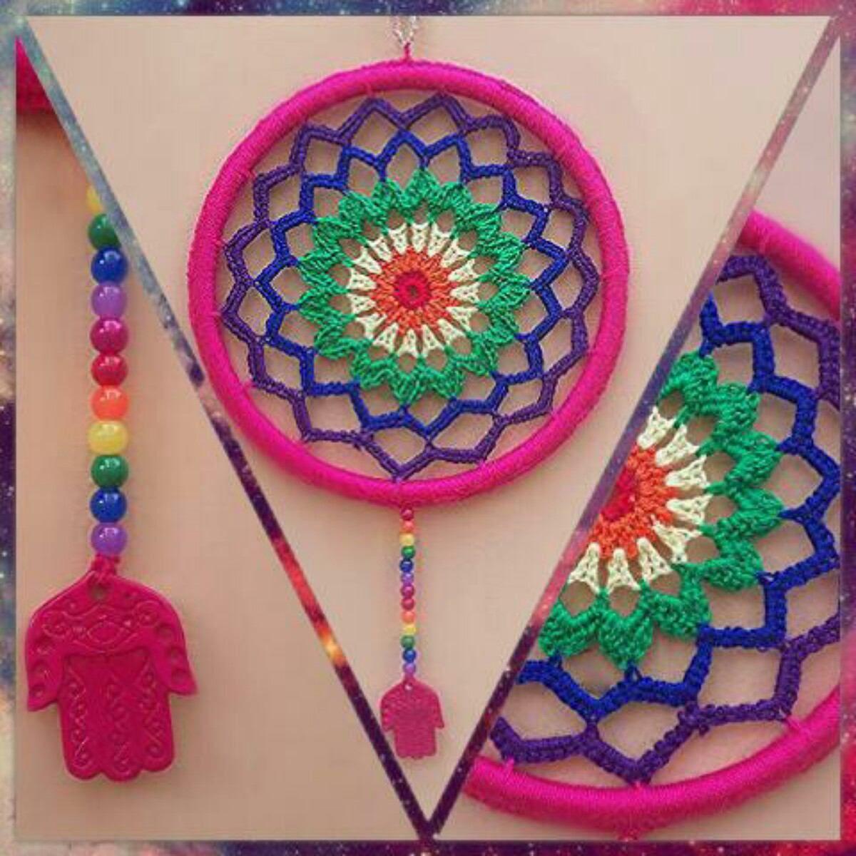 Mandalas Siete Chakras, Tejidas A Crochet,! Únicas | Pinterest ...