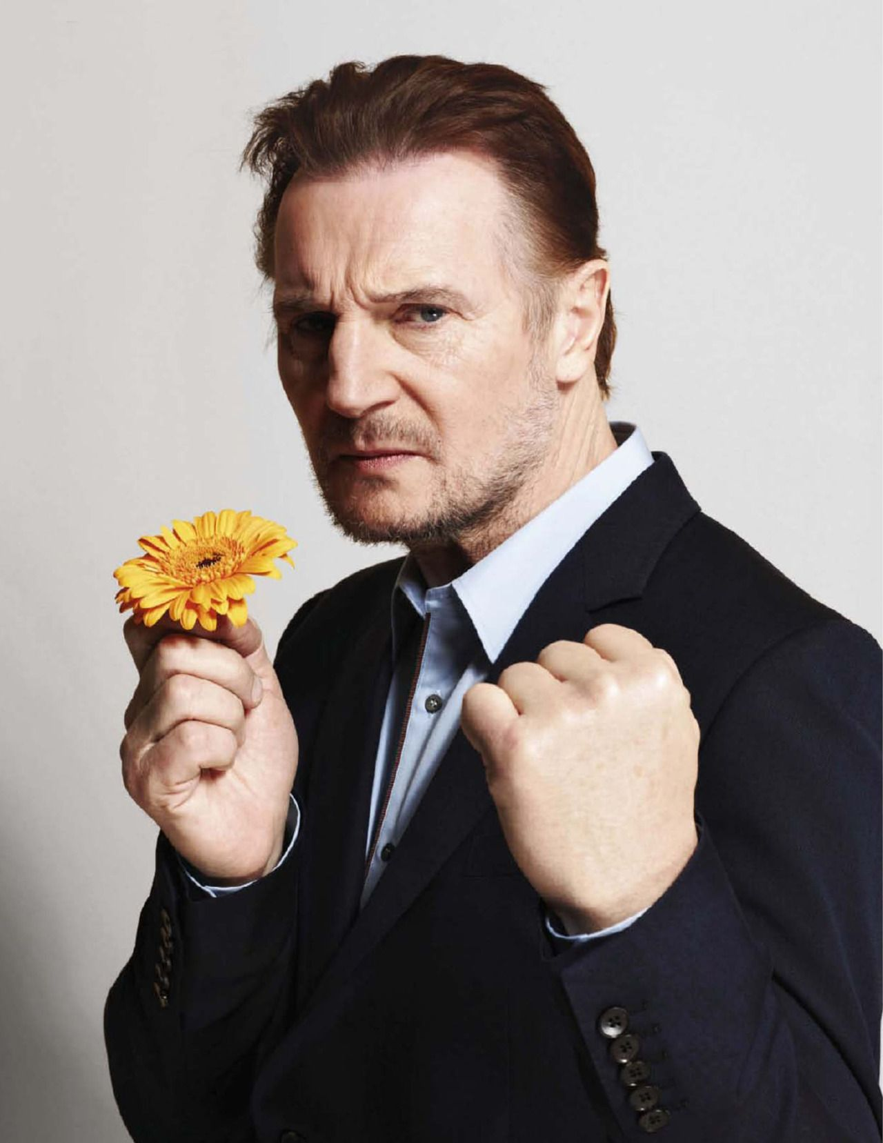Liam Neeson fotografiado por Nigel Parry, 2012