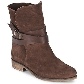 Factory Outlet Mid boots BT London CICCIA Brown Women's Shoes MB472419