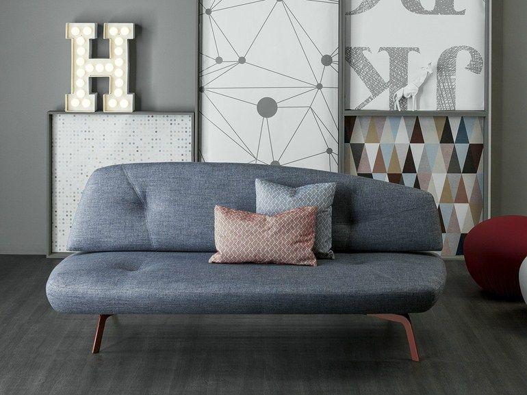 Convertible Fabric Sofa Bed Bandy By Bonaldo Design Pier Vittorio Prevedello Fabric Sofa Bed Sofa Bed Design Sofa Design