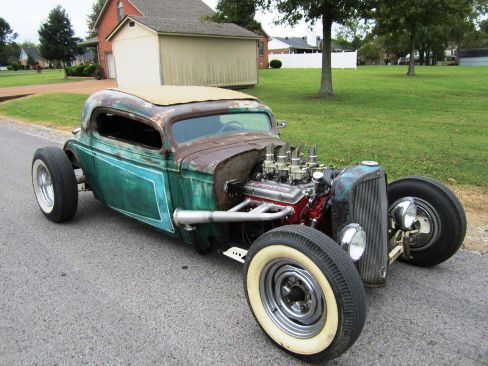 1933 Chevrolet Coupe Rat Rod For Sale In Louisiana This Chevy