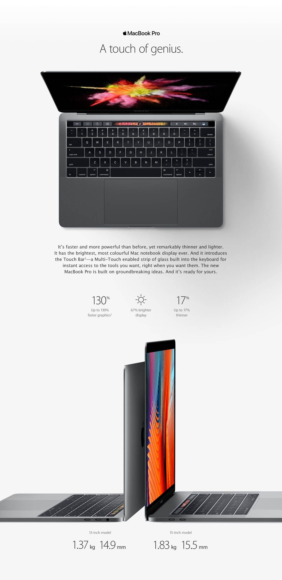MacBook Pro with Touch Bar Staples.ca® Macbook