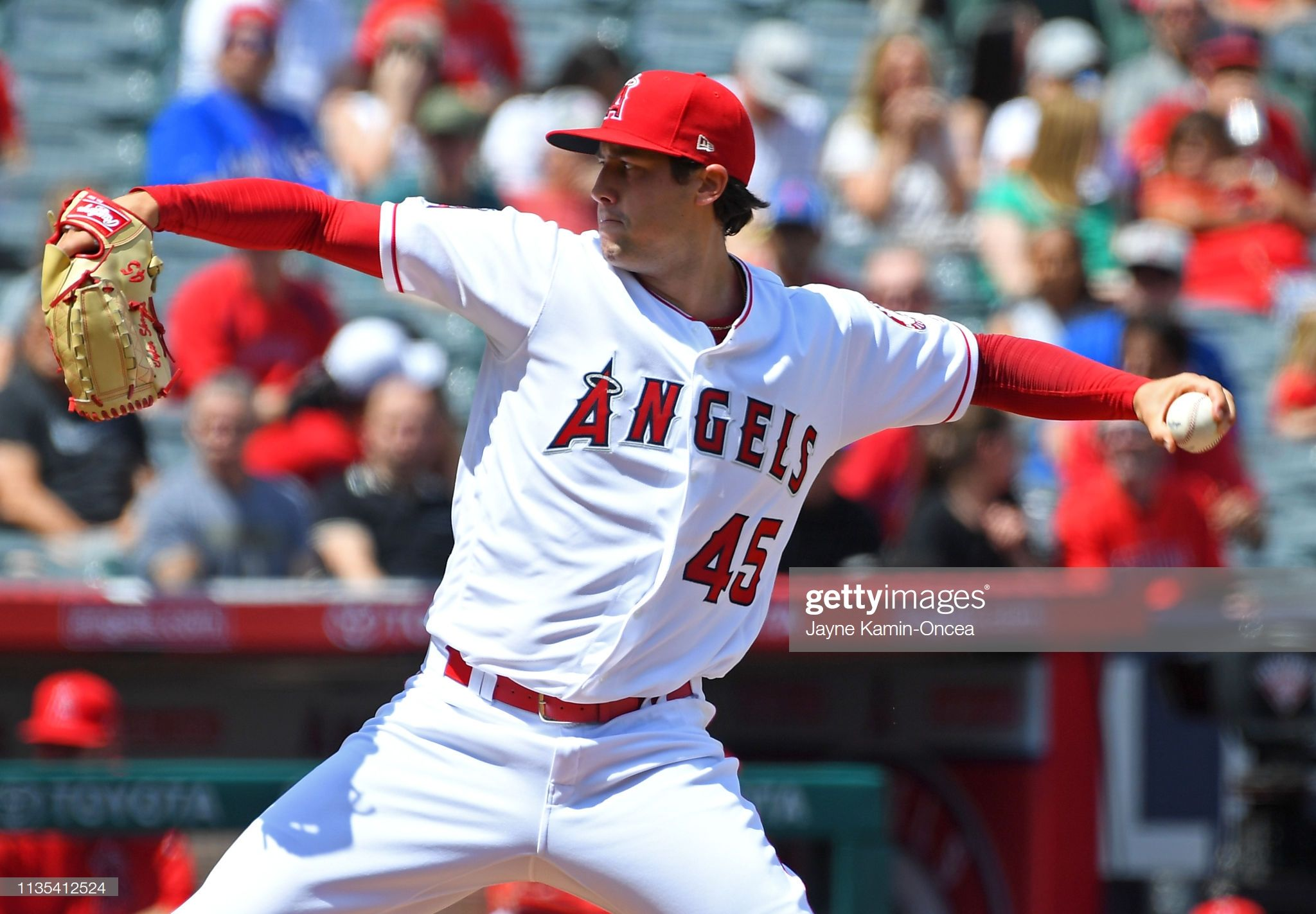 Tyler Skaggs Of The Los Angeles Angels Of Anaheim Pitches In The Los Angeles Angels Angels Baseball Team Tyler